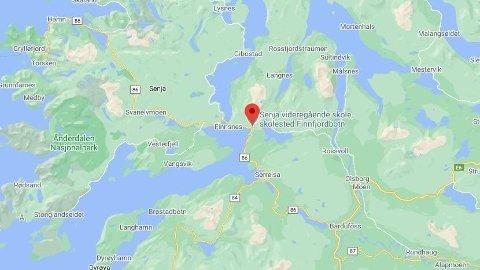 En mann er kritisk skadd etter en sparkesykkelulykke i Finnsnes.