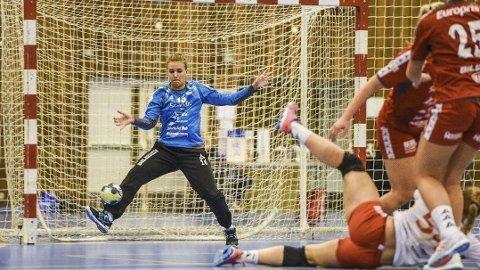 Jenny Sandgren gjorde comeback hos Fredrikstad mot Storhamar. Foto: Fredrikstad Blad