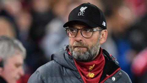 KAN BLI HISTORISK: Jürgen Klopp kan ved å vinne Premier League neste sesong med Liverpool tangere Manchester Uniteds rekord på 20 ligatitler i England.