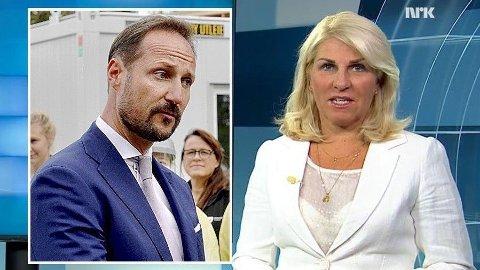 Redaktøren i avisen Agder, reagerer på at pressen ble kastet ut av møtet med kronprinsen, etter at NRK-journalistSiv Kristin Sællmann stilte spørsmål ved om møtet skulle være åpent for pressen.
