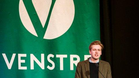SITTER I PROGRAMKOMITEEN: Unge Venstres leder Sondre Hansmark er blant dem som vil stanse all oljeleting.