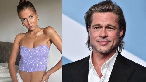 FLØRT: Flere amerikanske medier hevder Brad Pitt har funnet lykken med 27 år gamle Nicole Poturalski.