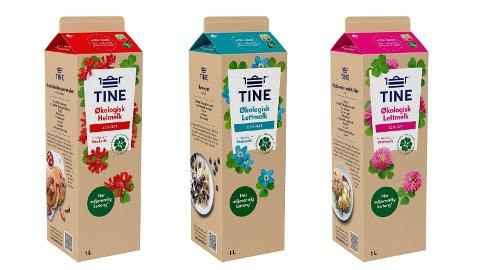 NY KARTONG: Kjenner du igje denne åpne- og lukkemekanismen? Nå lanserer Tine nye melkekartonger.