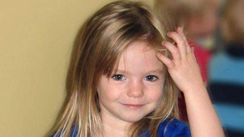 Madeleine McCann forsvant sporløst 3. mai i 2007 fra en ferieleilighet i Praia da Luz i Algarve da hun var snaut fire år gammel.