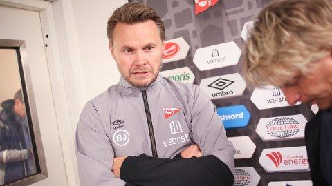 Bjørn Johansen er i ferd med å lede FFK tilbake til OBOS-ligaen.