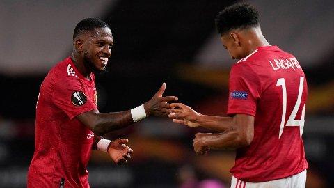 VIL BLI: Fred står fast på at han ikke ønsker å forlate Manchester United. Andrew Yates/Sportimage via PA Images
