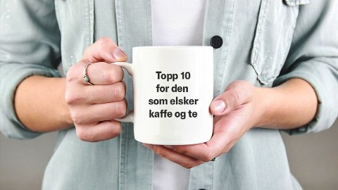 Kaffe og te. Viktig.