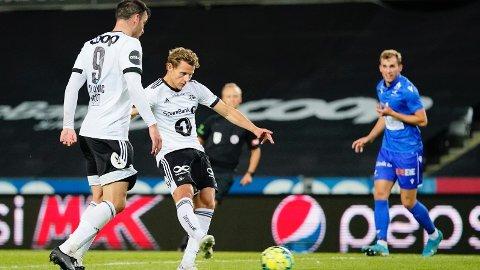 Vegar Eggen Hedenstad ble matchvinner mot FK Haugesund hjemme på Lerkendal søndag kveld.