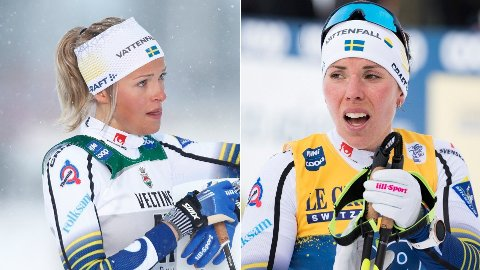 FRUSTRERT: Frida Karlsson og Charlotte er kritiske til FIS-beslutningen om fluorforbud uten et presist testapparat.