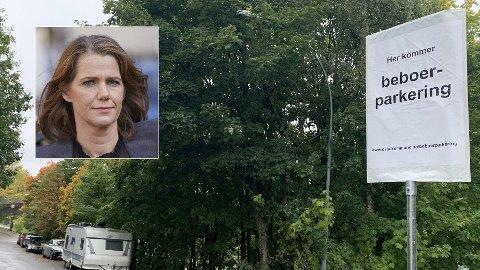 REAGERER PÅ BYRÅDET: - Å øke gebyret for beboerparkering samtidig som de fjerner mange parkeringsplasser i boligområdene oppfattes som urettferdig og en slags dobbel straff, sier kommunikasjonssjef Camilla Ryste i NAF.