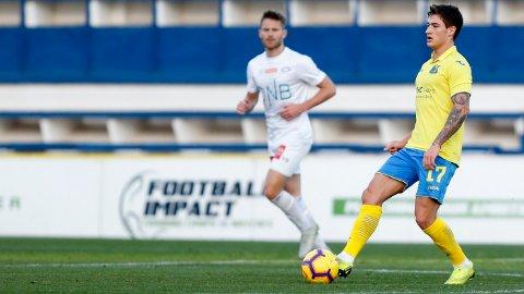 Mathias Antonsen Normann (t.h.) og Rostov skal være bedre enn Maccabi Haifa i kveld.