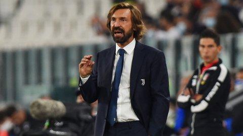 SJEF: Andrea Pirlo har tatt fatt på trenergjerningen i Juventus. REUTERS/Massimo Pinca
