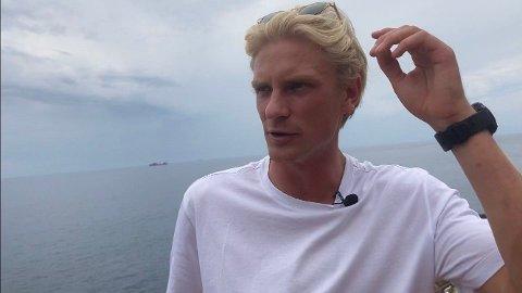 KLIMA-AKTIVIST: Morten Thorsby mener det er viktig at fotballspillere også tar samfunnsrollen på alvor.