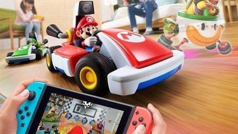 Mario Kart live Circuit må være tidenes beste fysiske manifestasjon av et spill.