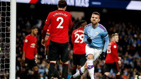 PÅ VEI BORT: Nicolas Otamendi skal etter sigende være på vei bort fra Manchester City.
