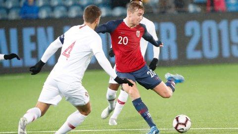 Kristian Thorstvedt er tilbake hos Genk etter tretthetsbruddet i foten.