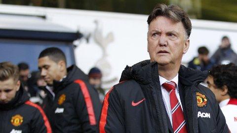 TIDLIGERE UNITED-MANAGER: Ikke alle var like begeistret over Louis van Gaal da han var manager i Manchester United.