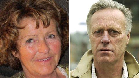 Anne-Elisabeth og Tom Hagen ved en tidligere anledning. Paret giftet seg i oktober 1969. I avhør har Tom Hagen forklart at det var skjebnen at han og Anne-Elisabeth ble sammen og giftet seg. Paret har bodd i dette huset i Sloraveien 4 i Lørenskog i flere tiår.