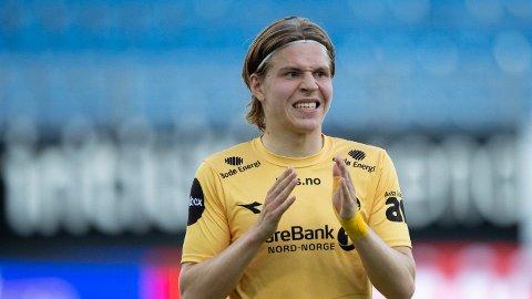 TIL MILANO: Jens Petter Hauge er klar for Serie A-fotball.