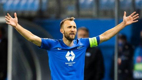 Moldes Magnus Wolff Eikrem fortviler etter 3-3-kampen mot Ferencvaros på hjemmebane.