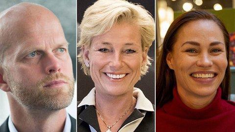 TA GREP: Bransjen betyr mye for pensjonen - er avtalen dårlig, bør du vurdere å ta noen raske grep, mener (f.v.) Hallgeir Kvadsheim, Alexandra Plahte og Cecilie Tvetenstrand.