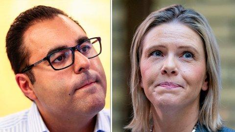 UENIGE: Arbeiderpartiets innvandringspolitiske talsperson, Masud Gharahkhani, går hardt ut mot Frp-nestleder Sylvi Listhaugs forslag om å la privatpersoner ta seg av flyktninger som kommer til Norge.