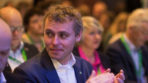 Senterparti-nestleder Ola Borten Moe er innstilt på topp på stortingslista til Sør-Trøndelag Senterparti.