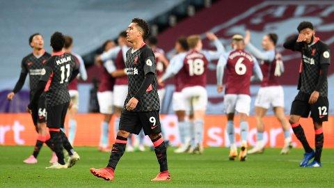 STORSEIER: Aston Villa knuste Liverpool i søndagens Premier League-oppgjør.