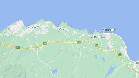 En mann gikk amok på E6 i Trøndelag, søndag kveld.