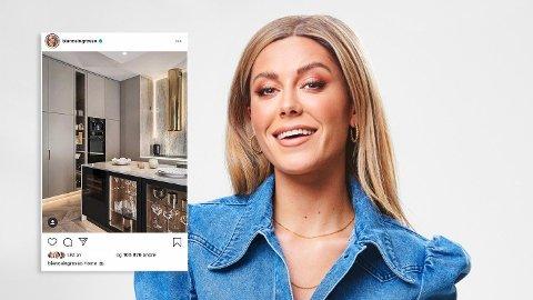 VIL FLYTTE: Etter en omfattende renovering og et snaut år i sin nye leilighet, avslører Bianca Ingrosso at hun drømmer om å flytte.