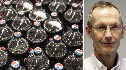 EKSPERT: Fedmeekspert og professor Jøran Hjelmesæth mener det foreslåtte avgiftskuttet for sukkerfri brus er bra, men han ønsker seg et større kutt.