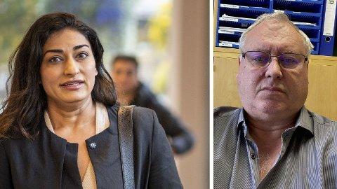 Regnskapsfører Magne Tangen reagerte sterkt på hvordan Ernst & Young undersøkte økonomien i selskapet Født Fri, der Shabana Rehman er daglig leder.
