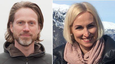 UT MOT REGJERINGEN: Norwegian Experience-sjef Ola Magne Thuen Neergaard og turistdirektør Elisabeth Saupstad mener høyere moms er noe av det siste en kriserammet reiselivsbransje trenger.