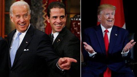 Twitters og Facebook har blokkert kontroversiell artikkel om den demokratiske presidentkandidaten Joe Biden og hans sønn Hunter.