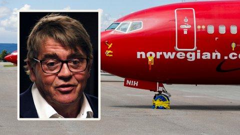 NORGE VIKTIGST: Hvis Norwegian går mot stupet, er det Norge som er viktigst, mener Jan Petter Sissener.