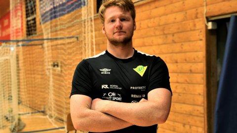 LOVENDE: Tobias Marselius Myrbakk (19) har vist gode takter i Rema 1000-ligaen.
