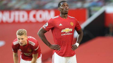 - FORLENGET: Manchester United skal ha benyttet seg av en opsjon og forlenget kontrakten til Paul Pogba med et år.