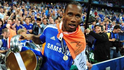 Det var en fryktelig lang vei for å komme seg dit, men Didier Drogba oppnådde til slutt drømmen sin.
