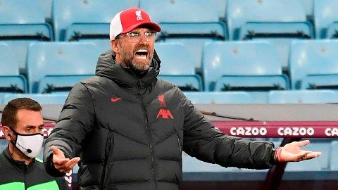 Liverpool-manager Jürgen Klopp har aldri tapt et Merseyside-derby.