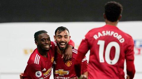 SEIER: Manchester United vant til slutt 4-1 over Newcastle.
