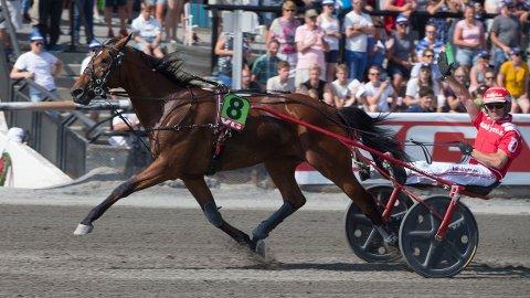 Peter Untersteiner er aktuell i dagens V75-omgang. Foto: Anders Kongsrud/www.hesteguiden.com.