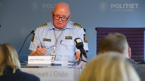 Politiinspektør Johan Fredriksen fremhever at Oslo politidistrikt har nulltoleranse for uønsket atferd og trakassering.