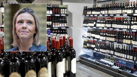 KOSTBART: – Det er et mageplask fra regjeringen og spesielt Høyre, sa Sylvi Listhaug om manglende kutt i alkoholavgifter i 2021-budsjettet.