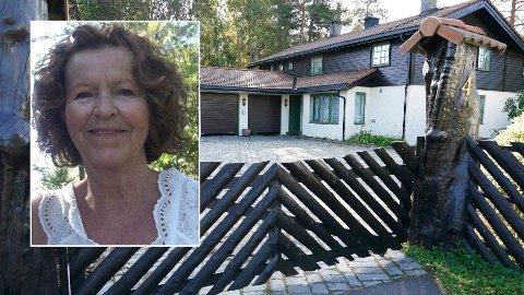 Anne-Elisabeth Hagen har vært sporløst forsvunnet siden 31. oktober 2018. Politiet har jobbet på spreng med å løse forsvinningsgåten siden, uten hell. Politiet mener dette huset i Sloraveien, som er boligen til ekteparet Hagen, er åsted for drap.