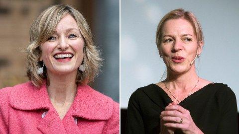 VIL IKKE KOMMENTERE: Hverken Inga Marte Thorkildsen (t.v) eller Marte Gerhardsen (t.h) ønsker å kommentere saken.