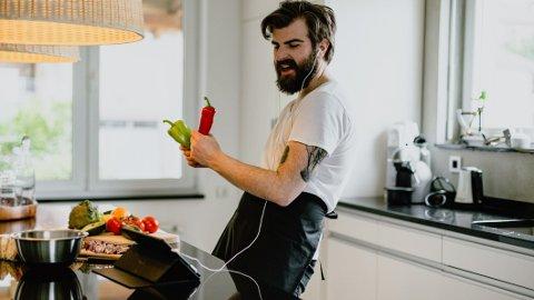Oooh, you are halfway there... livin with on a prayer for great kitchen machines. (ok, noen ganger finner vi ikke på smarte nok ting å skrive som bildetekster).