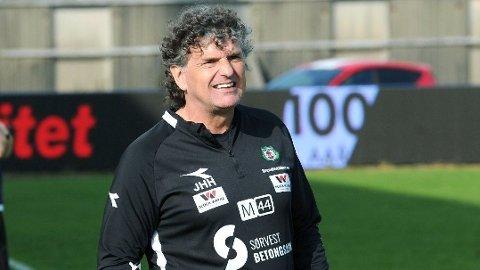 Jan Halvor Halvorsen har suksess med Bryne denne sesongen. Foto: Tarjei Sel, Jærbladet