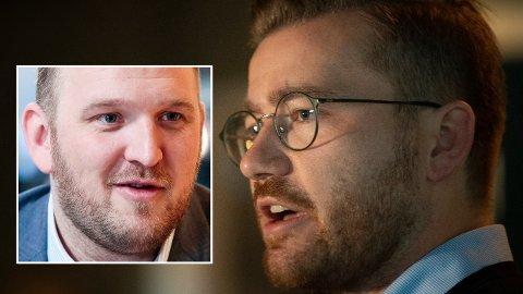 Fremskrittspartiets Jon Georg Dale (innfelt) er sterkt kritisk til regjeringens og Sveinung Rotevatns uklarheter knyttet til hva klimapolitikken koster.
