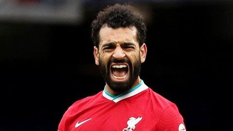 Mohamed Salah scoret 15 av sine 19 mål i Premier League hjemme på Anfield. Vi tror han lager problemer for Sheffield United lørdag.