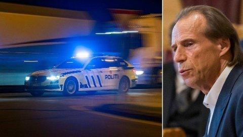 BEKYMRET: Bøhler er ikke fornøyd med Oslo-politiet etter en hendelse søndag kveld.